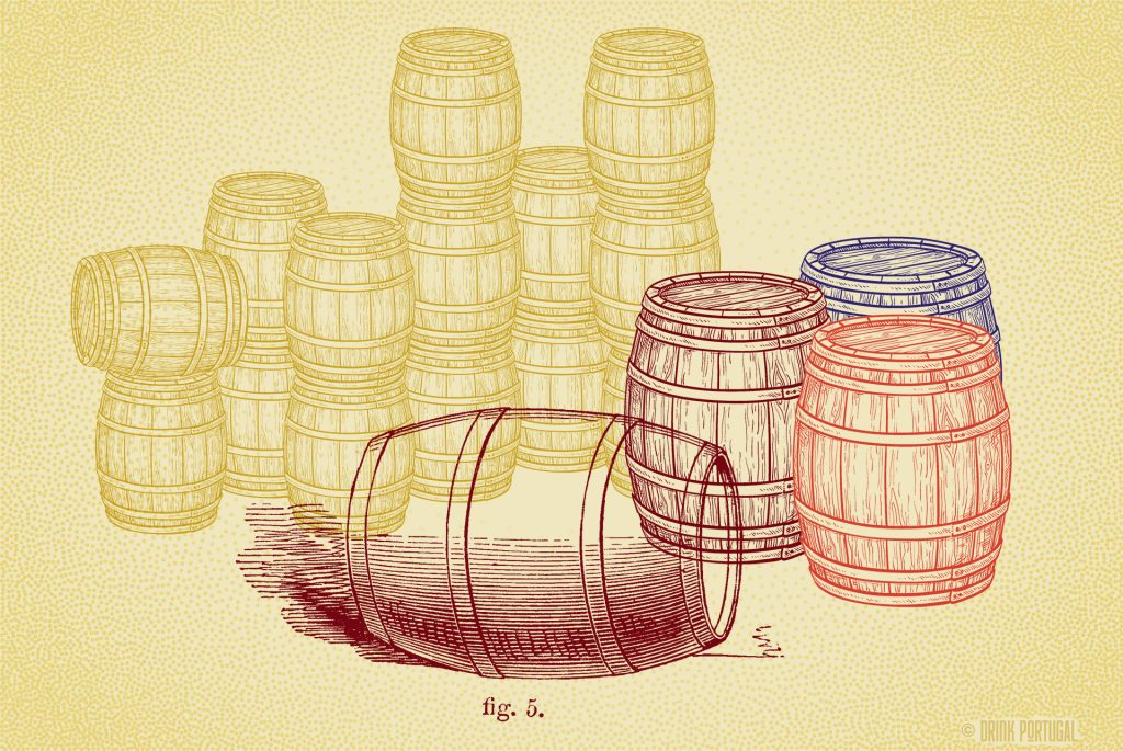 Wine production and storage. Portuguese terms explained